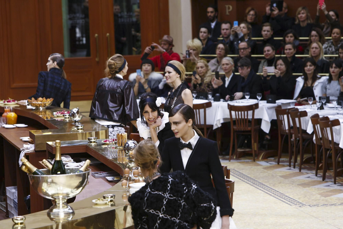 Chanel RTW Fall Winter 2015 Paris